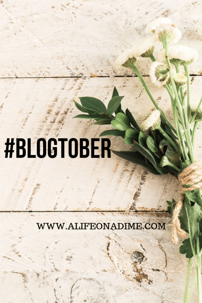 it's blogtober