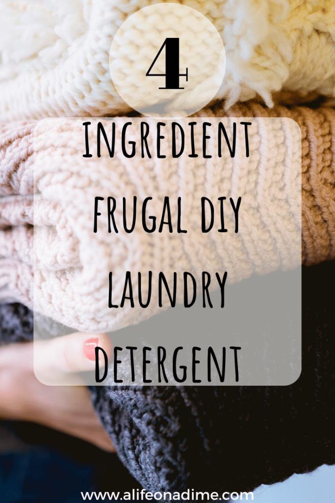 frugal diy laundry detergent