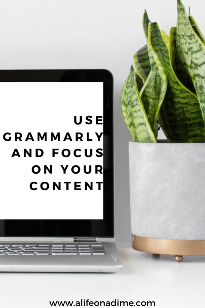 use grammarly