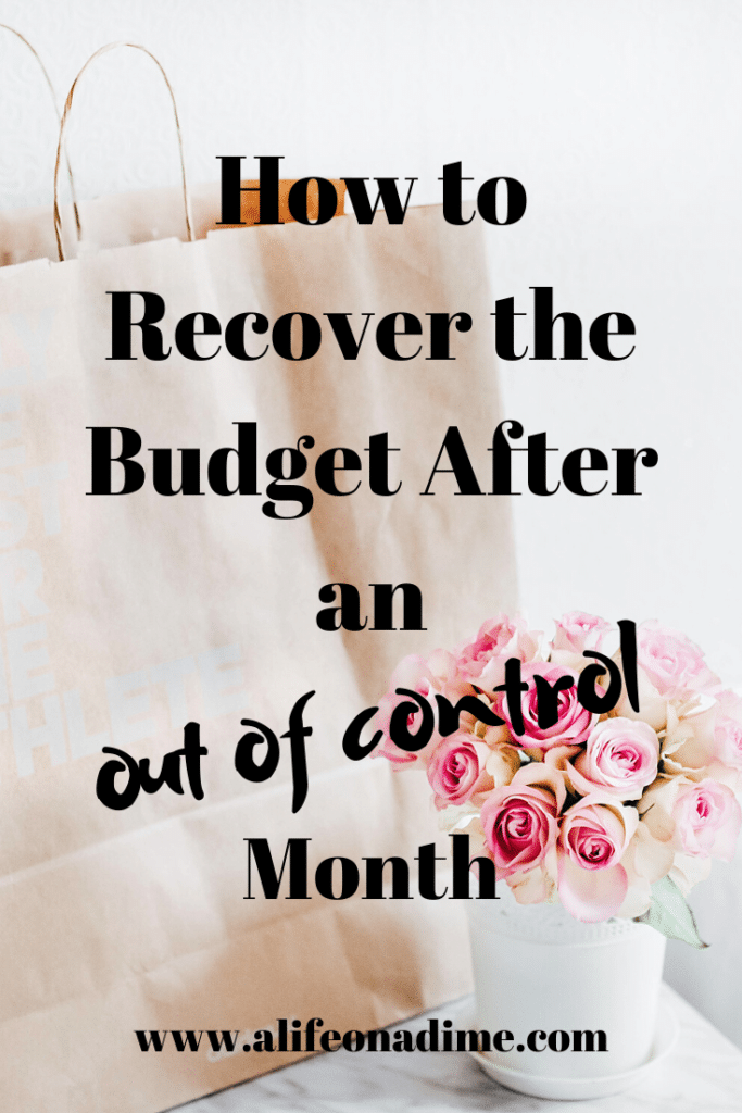 recover the budget
