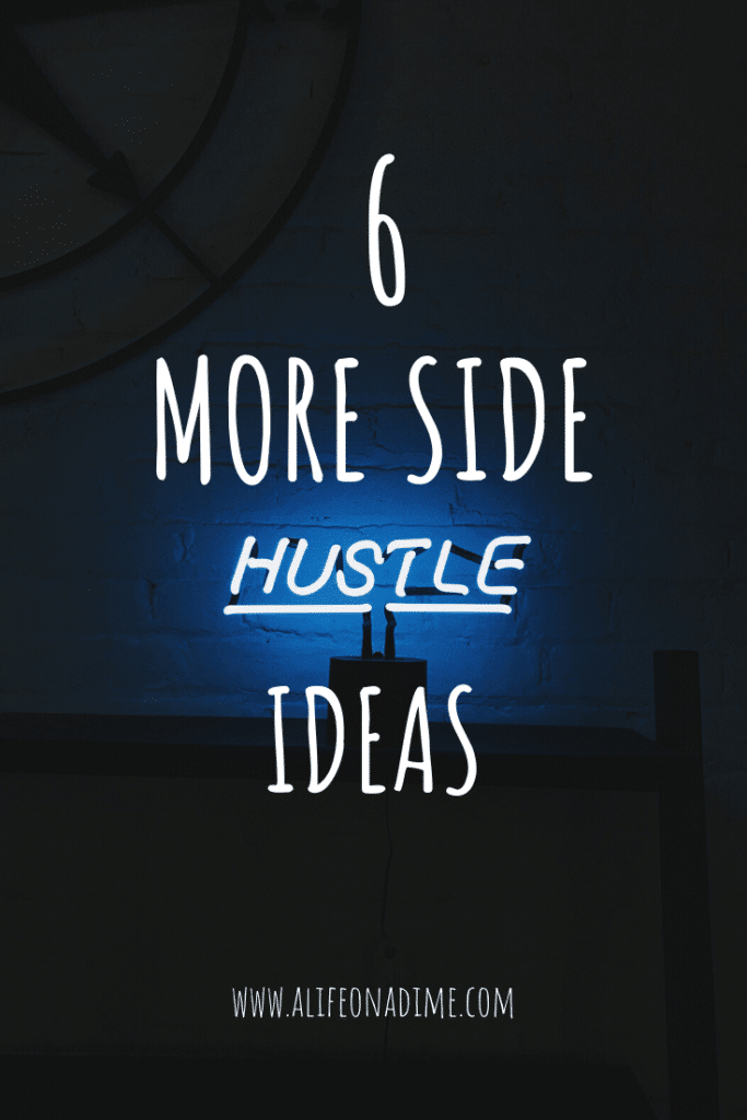 more side hustle ideas