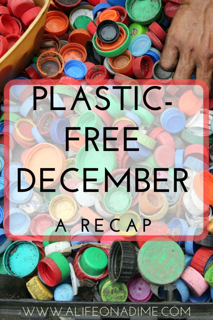 plastic-free December challenge