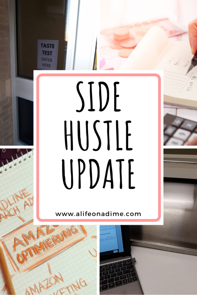 side hustle update