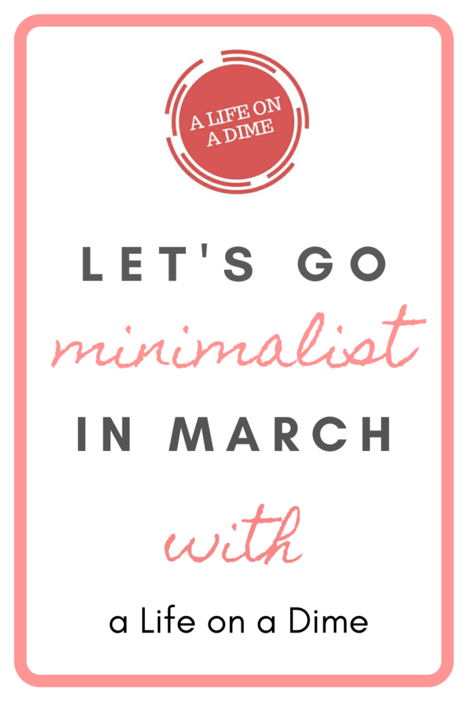 minimalist in march march into minimalism