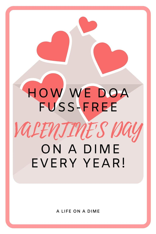 FUSS-FREE VALENTINE'S DAYDAY IDEAS
